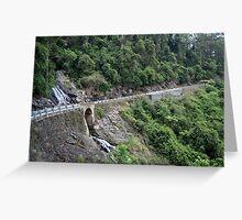 Waterfall Way Greeting Card