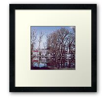 The Outing. Framed Print