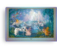 Chasing the Unicorn Canvas Print