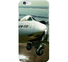 Vampire F.30 fighter Jet A79-1 iPhone Case/Skin