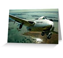 Vampire F.30 fighter Jet A79-1 Greeting Card
