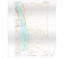 USGS Topo Map Washington State WA Vantage 244462 1965 24000 Poster