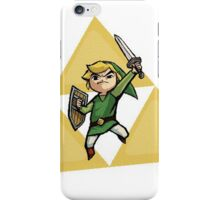 Link with Triforce iPhone Case/Skin