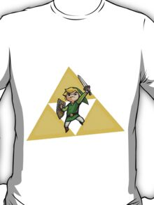 Link with Triforce T-Shirt