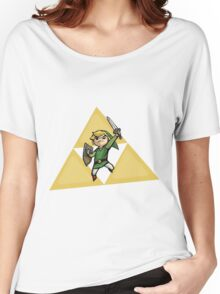 Link with Triforce Women's Relaxed Fit T-Shirt