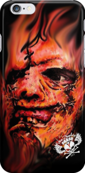 Leatherface by VON ZOMBIE ™©®