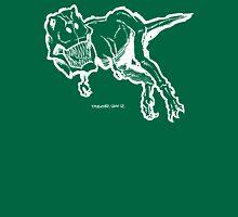 T-Rex White Unisex T-Shirt