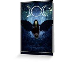 "The Celtic Goddess Of the Underworld ""The Morrigan"" Greeting Card"