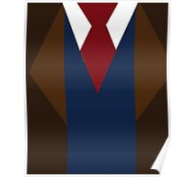 Doctor Who David Tennant Suit and Tie Poster