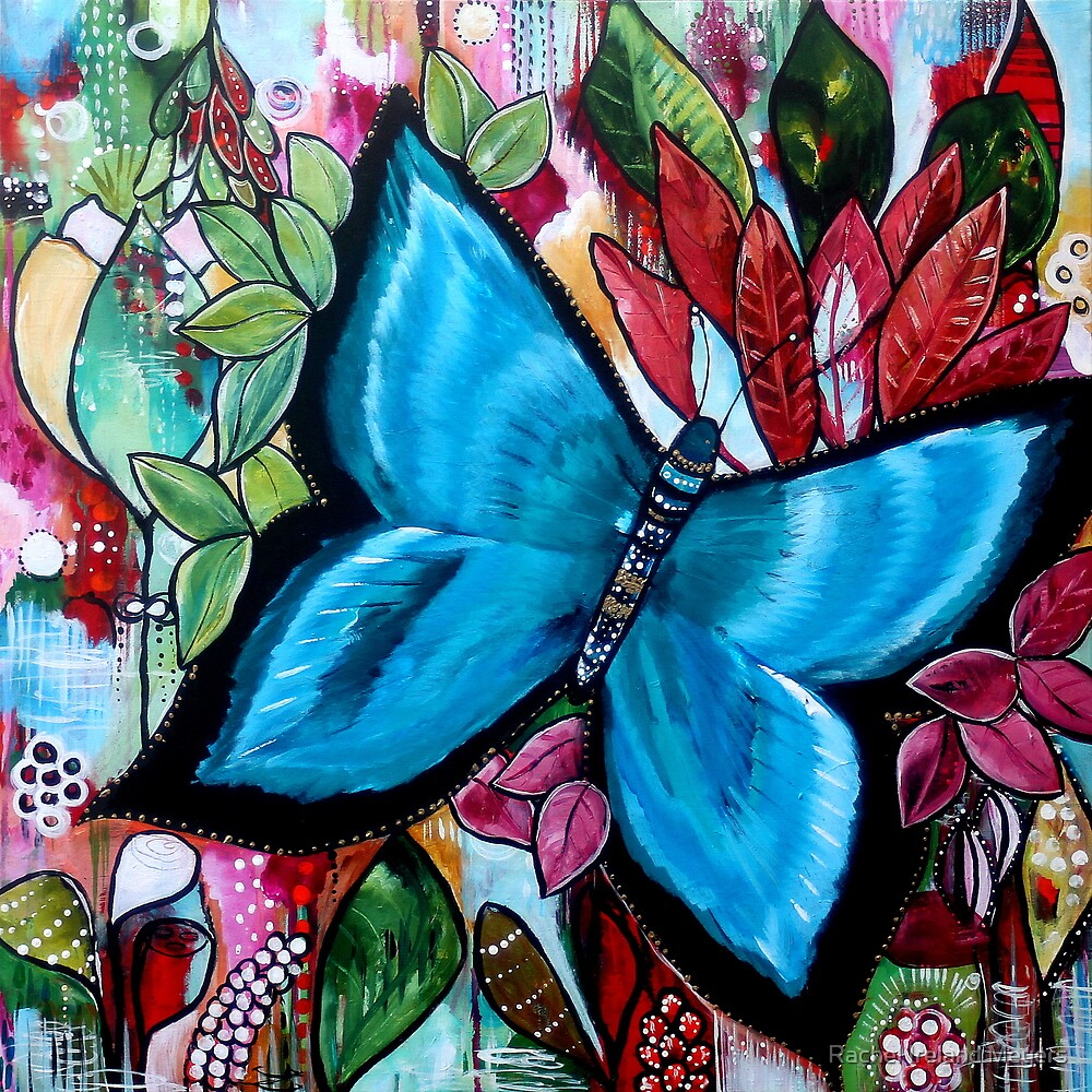'Blue Butterfly' by Rachel Ireland-Meyers