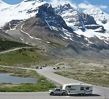Columbia Icefield by roger smith