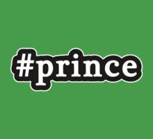 Prince - Hashtag - Black & White Baby Tee