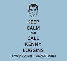Danger Zone! (Black Fill) Unisex T-Shirt