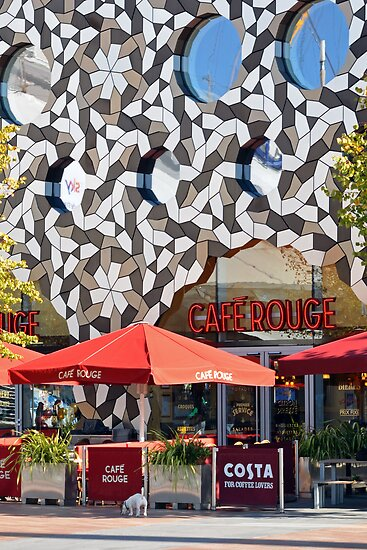 Cafe Rouge @ Ravensbourne College by Eric Flamant