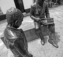 Father and son by Unai Ileaña