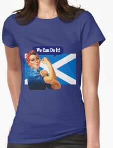 Rosie the Riveter for Scottish Independence T-Shirt T-Shirt