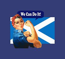Rosie the Riveter for Scottish Independence T-Shirt Womens Fitted T-Shirt