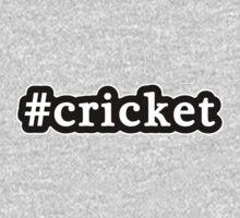 Cricket - Hashtag - Black & White Kids Tee
