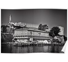 Alcatraz island and Federal Penitentiary Poster