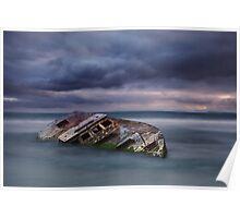 Shipwrecked II -  Carpenter Rocks South Australia Poster