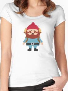 Hipster elf Women's Fitted Scoop T-Shirt