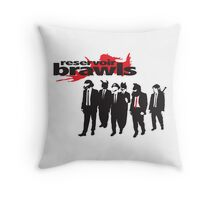 Reservoir Brawls Throw Pillow