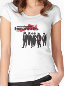 Reservoir Brawls Women's Fitted Scoop T-Shirt