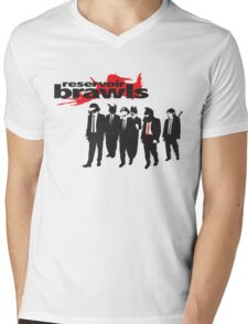 Reservoir Brawls Mens V-Neck T-Shirt