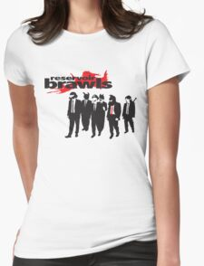 Reservoir Brawls Womens Fitted T-Shirt