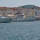 St Tropez harbour by Jim Hellier