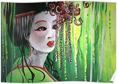 Geisha in Willows: The Arrogant Concubine by Barbora  Urbankova