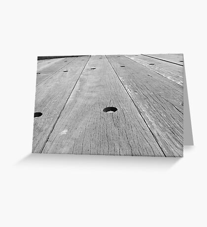 Silver boards Greeting Card