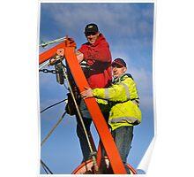Boat Repairs ~ Lyme Regis Poster