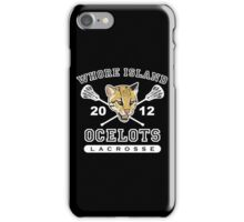 Go Ocelots! (White Fill) iPhone Case/Skin