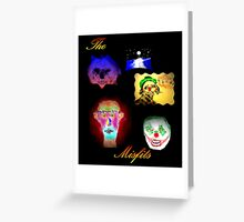THE MISFITS Greeting Card
