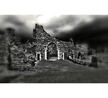 Hastings Castle  Photographic Print
