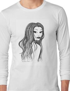 Bedroom Eyes - Who's looking at you! Long Sleeve T-Shirt
