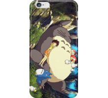 Totoro Napping iPhone Case/Skin
