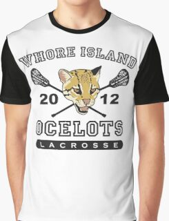 Go Ocelots! (Black Fill) Graphic T-Shirt