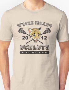 Go Ocelots! (Black Fill) Unisex T-Shirt