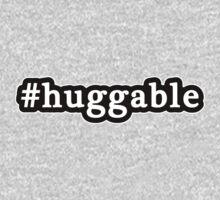 Huggable - Hashtag - Black & White One Piece - Long Sleeve