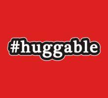Huggable - Hashtag - Black & White One Piece - Short Sleeve