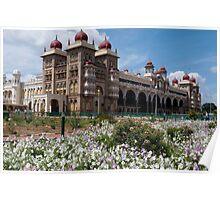 Maharaja's Palace, Mysore, India Poster