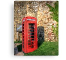 Dialling into the past  Canvas Print