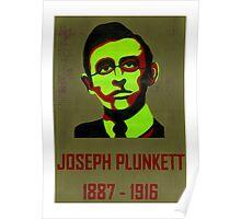 Joseph Plunkett 1887 - 1916 Poster