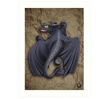 Train your Dragon! Art Print