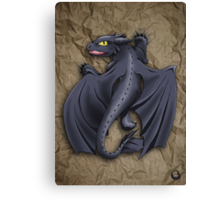 Train your Dragon! Canvas Print