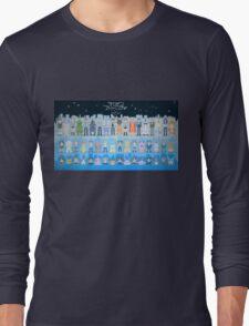 Digimon Adventure Tri. pixel style (Ending) Long Sleeve T-Shirt