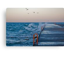 Surfing 01 Canvas Print