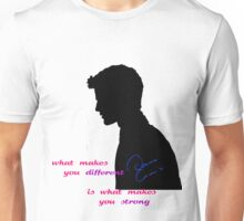 What makes you different Unisex T-Shirt